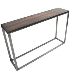 Console Table Sofa Table Entryway Table by BlackIronMetalWorks