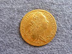 Brasil Colônia - Moeda em ouro de 6400 réis, ano 1776 letra monetária R, reinado de D.José I, em est