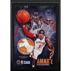 Amare Stoudemire New York Knicks 4x6 Net Plaque