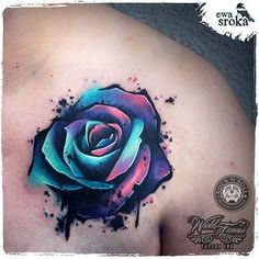 77bcd96c3 unique Watercolor tattoo - Instagram photo by Ewa Sroka • Dec 9, 2015 at 12