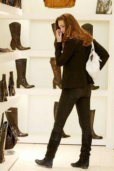 May 2009, Kate shops