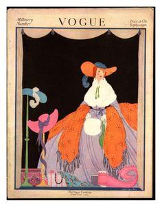 helen dryden vogue covers | ... for vogue magazine covers - September 1916 by Helen Dryden