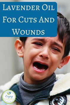 Learn how to use lavender oil for cuts and wounds. Several great recipes to keep on hand if you have little ones ;)