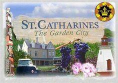 Catharines is the largest city in Canada's Niagara Region. Niagara Region, St Catharines, Visit Canada, Flag Design, Niagara Falls, Ontario, Backyard, Explore, Ottawa