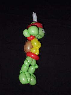 Tortuga Ninja 4- Teenage Mutant Ninja Turtle Globoflexia - Balloon Alfonso V http://magomadrid.es