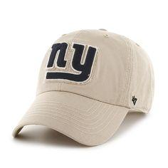69fb5c322c5 New York Giants Wright Clean Up Khaki 47 Brand Adjustable Hat