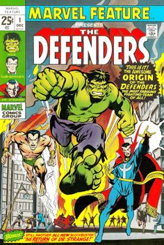 Marvel feature #1 Defenders by Neal Adams