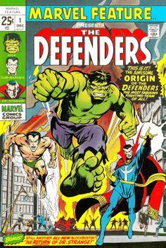 Marvel feature #1 Defenders by Neal Adams