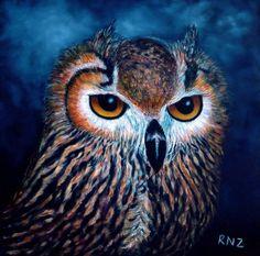 Owl Rising by znkf0908.deviantart.com