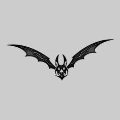 Bat Wings Tattoo Designs 6