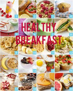HABIT OF THE MONTH – JULY/HEALTHY BREAKFAST! -your brain will thank you for giving it glucose from food, especially good carbs, this will give you more energy and concentration -reduce hunger and have a better metabolism; hence you will not consume as many calories throughout the entire day. This means, weigh less! -give your body and muscles glucose to activate them and receive you more strength and endurance to engage in any physical activity -lower cholesterol levels #Healthy…