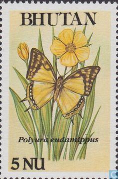1990 Bhutan [BTN] - Butterflies
