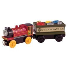 Thomas and Friends Wooden Railway - Victor and the Engine Repair Car Thomas & Friends http://www.amazon.com/dp/B004E6F0NI/ref=cm_sw_r_pi_dp_ZEO-ub0F0SC9C