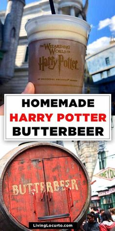 Homemade Butterbeer Recipe ! Easy Butterbeer Recipe, Frozen Butterbeer, Keto Friendly Desserts, Low Carb Desserts, Fun Desserts, Beer Recipes, Party Recipes, Coffee Recipes, Copycat Recipes
