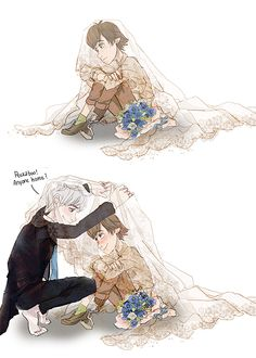 Hijack/Frostcup Wedding AU by hope-for-da-snow.deviantart.com on @deviantART
