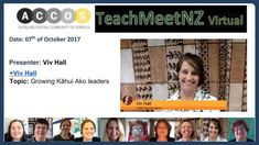 TeachMeetNZ Hall_Viv School Date, Presentation, Community, Learning, Studying, Teaching, Onderwijs
