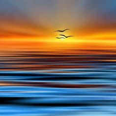 Sunset over the Greek sea. Foto Picture, Beautiful Sunrise, Beautiful World, Mother Nature, Beautiful Pictures, Scenery, Ocean, Photography, Abstract Landscape