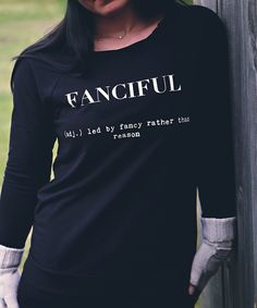 Fanciful 3/4 Sleeve Raglan (Ladies)