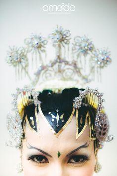Traditional Javanese Bride. Courtesy of Rhenick & Prinka :)