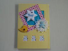 Geburtstags-Karte für kleine Jungs von UNIKAT-die Kreativ-Werkstatt auf DaWanda.com