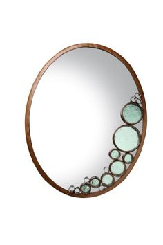 Varaluz Lighting 165A02HO Fascination  Oval Mirror Hammered Ore Finish w Recycled Clear Glass *** More info could be found at the image url. (This is an affiliate link and I receive a commission for the sales)