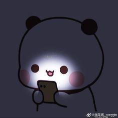 Cute Bunny Cartoon, Cute Cartoon Images, Cute Kawaii Animals, Cartoon Pics, Chibi Panda, Chibi Cat, Cute Chibi, Cute Panda Wallpaper, Bear Wallpaper