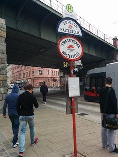 Autobus- + Straßenbahnhaltestelle Ottakring mit den Wiener Linien 2, 46 und N am 27.05.2015. San Francisco Ferry, Travel, Autos, Viajes, Destinations, Traveling, Trips