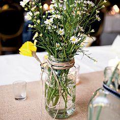 Classic Spring Wedding | Reception Flowers | SouthernLiving.com