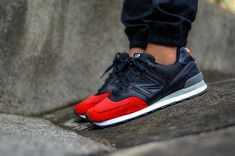 New Balance 574 #sneakers Great colour way.