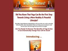 Try Why Yoga Matters Now- http://www.vnulab.be/lab-review/why-yoga-matters