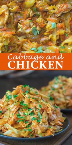 This succulent Cabbage and Chicken is hearty, filling, and so delicious. Just a few ingredients and about 15 minutes of active cooking time make up this amazing dinner. This is my Best Recipe yet! Low Carb Recipes, Cooking Recipes, Cooking Time, Cheap Recipes, Cooking Videos, Califlour Recipes, Chicke Recipes, Chorizo Recipes, Cooking School