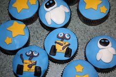 wall-e birthday | wall e cupcakes cupcakes made for the big boy s 4th birthday i made ...