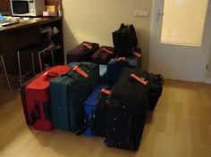 Travel Tip 46. Regardless of size, never bring more than two bags with you- any more than that is unwieldy and difficult to keep track of.