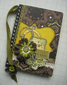 love the altered notebook and BG Origins paper line