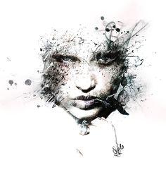 Ignorance Photoshop, Portraits, Artwork, Work Of Art, Head Shots, Portrait Paintings, Portrait