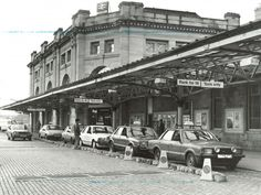 Aberdeen station before the development of Union Square