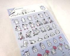 Kawaii Japan Sticker Sheet Assort: Mini Point Stickers by mautio