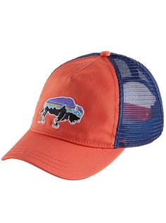 Blue Ridge Mountain Outfitters - Patagonia Women s Fitz Roy Bison Layback  Trucker Hat bb12f598a514