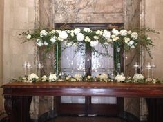Escort card table at Theatre St. James......Montreal