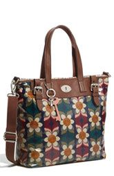 I love this Fossil 'Vintage Key-Per' Coated Canvas Tote (via Shop It To Me)