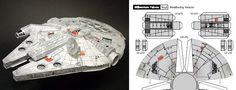 40 geeky paper craft templates, including gaming consoles, star ships, buildings and figurines