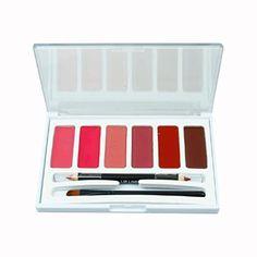 Laimeng,6 Colors Lip Gloss Palette Makeup Lipstick Palette Lipgloss Lips Lip Pigment * Read review @