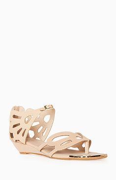 Butterfly Cutout Sandals