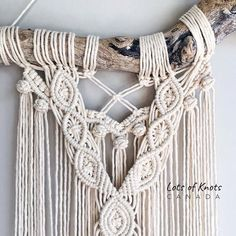 [New] 17 Home Decor Pictures Macrame Wall Hanging Diy, Boho Stil, Home Decor Pictures, Wall Hanger, Plant Hanger, Accent Pieces, Sewing Patterns, Weaving, Creations