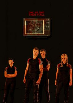 Clove, Marvel, Cato & Glimmer