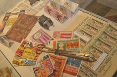 Antigos Materiais da Lotaria