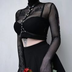 Three Gothic Fashion Tips That You Should Use Gothic Outfits, Edgy Outfits, Grunge Outfits, Cool Outfits, Fashion Outfits, Womens Fashion, Fashion Clothes, Fashion Ideas, Dark Fashion