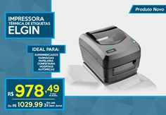 #Novidade para seu #Negócio ;) Chegaram hoje na #Macrolab as #Impressoras #Térmicas de #Etiquetas L42 da #Elgin. Entre em Contato via #WhatsApp (41) 98476-7203 | Impressa L42-> https://www.macrolab.com.br/impressora-termica-de-etiqueta-l42-elgin.html
