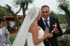 One of our couples in their wedding day...a day to remember!! Wedding by La Monique Eventi, planners of weddings in the best venues & destinations for events in Puglia, Italy