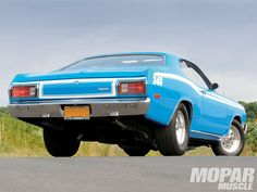 Plymouth Duster | 1973 Plymouth Duster 340 Rear